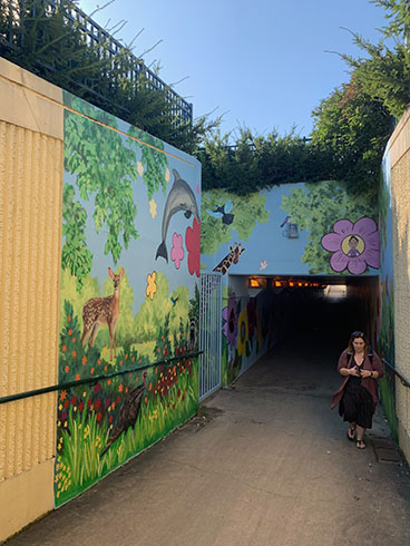 Hawthorne DAMA mural