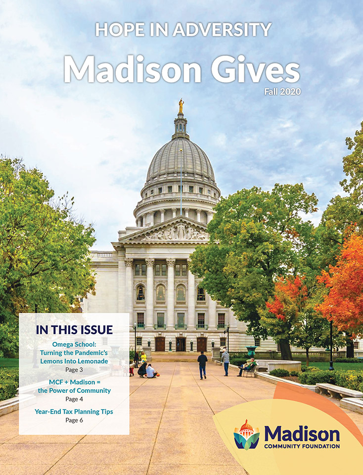 Fall 2020 newsletter cover