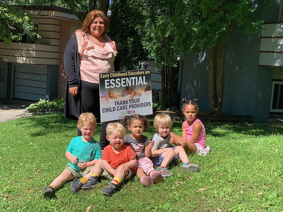 WECA provider with kids