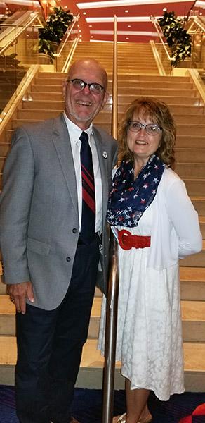 Bill Tierney and Valerie Nehls