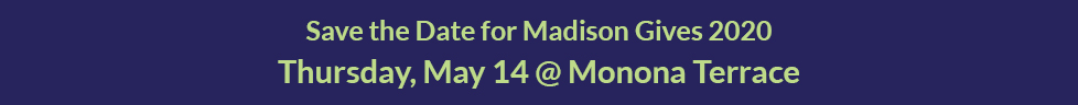 Strengthen the Madison Area with your gift to MCF's Community Funds. Give now.