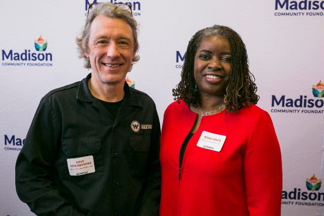 Wisconsin Bike Fed Executive Director Dave Schlabowske and CEOs of Tomorrow Founder and CEO Roxie Hentz are among the 22 Community Impact Grant recipients.