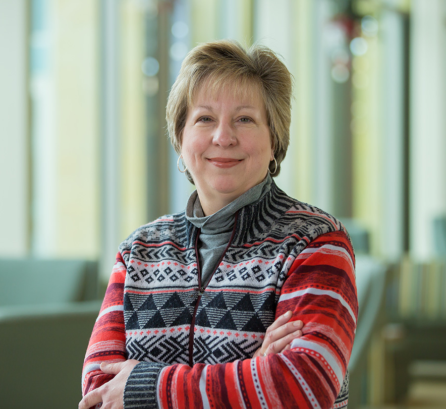 Sue Gaard, chair of the AFFW Advisory Council